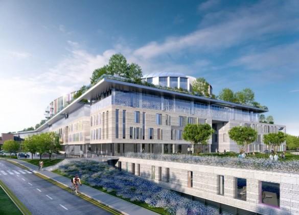 Paediatric hospital construction